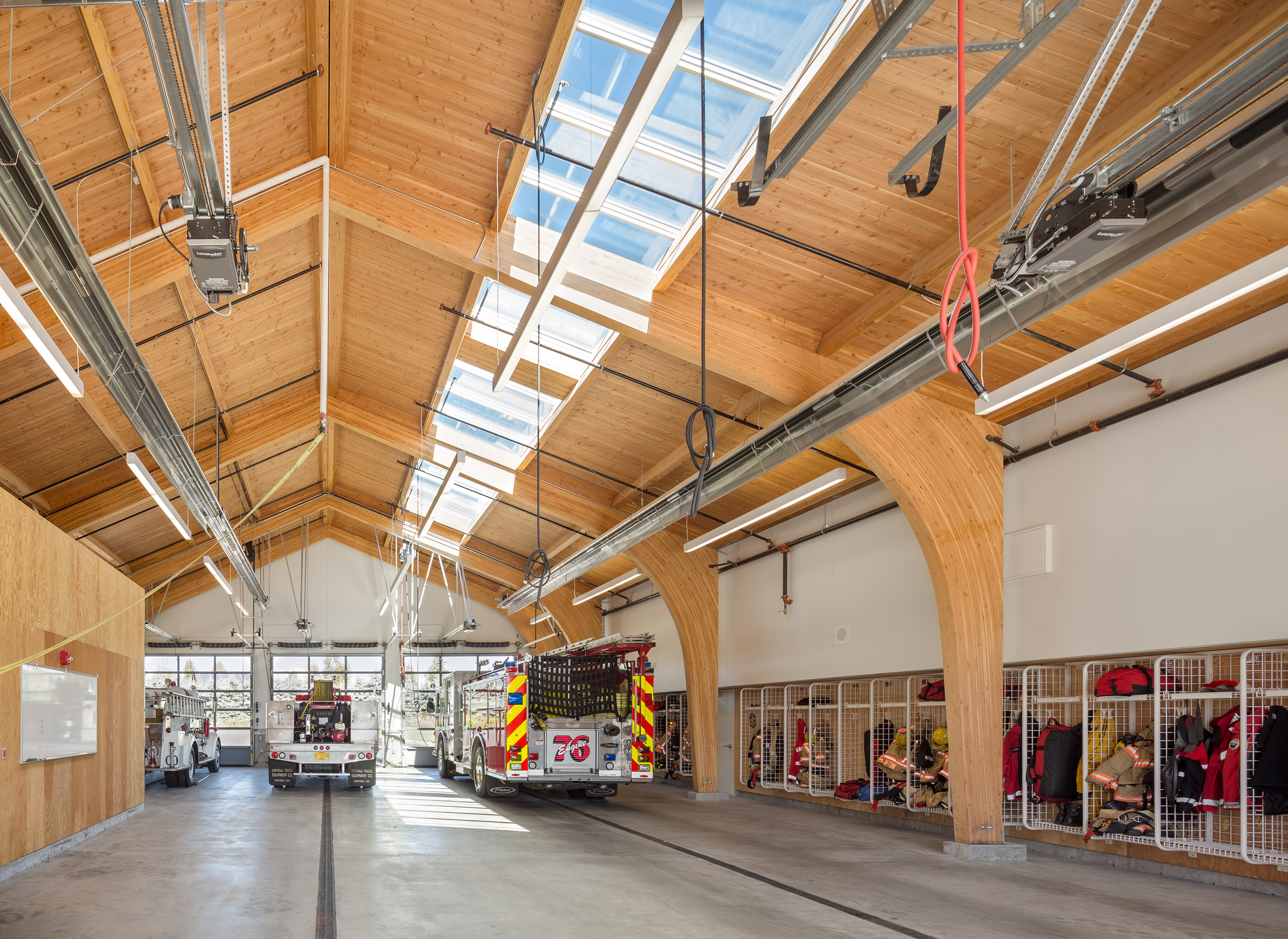 Fire Station 76 Interiors Hennebery Eddy Architects Inc
