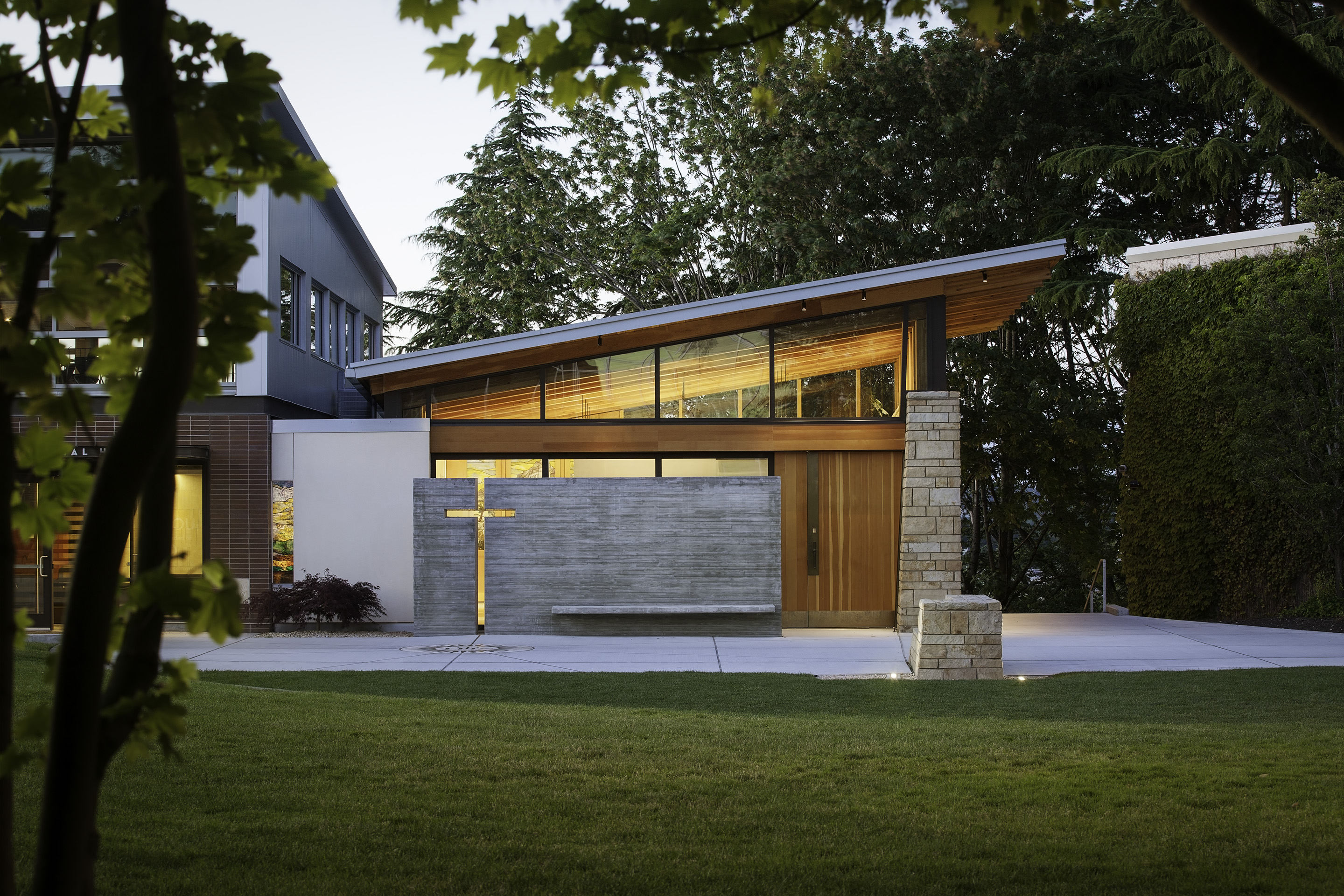 Our Lady of Montserrat Chapel | Hennebery Eddy Architects, Inc