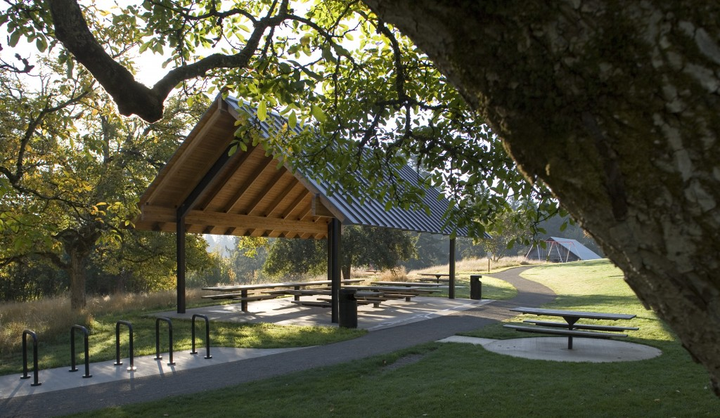Wilsonville Park Structures Hennebery Eddy Civic Architects