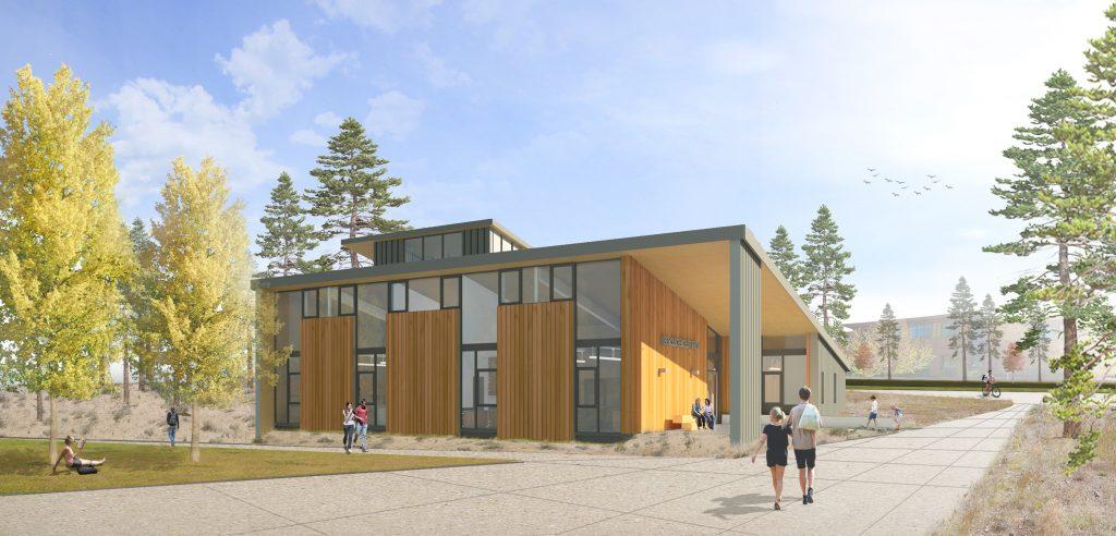 Exterior Rendering - Bend Science Station - Hennebery Eddy June 2016
