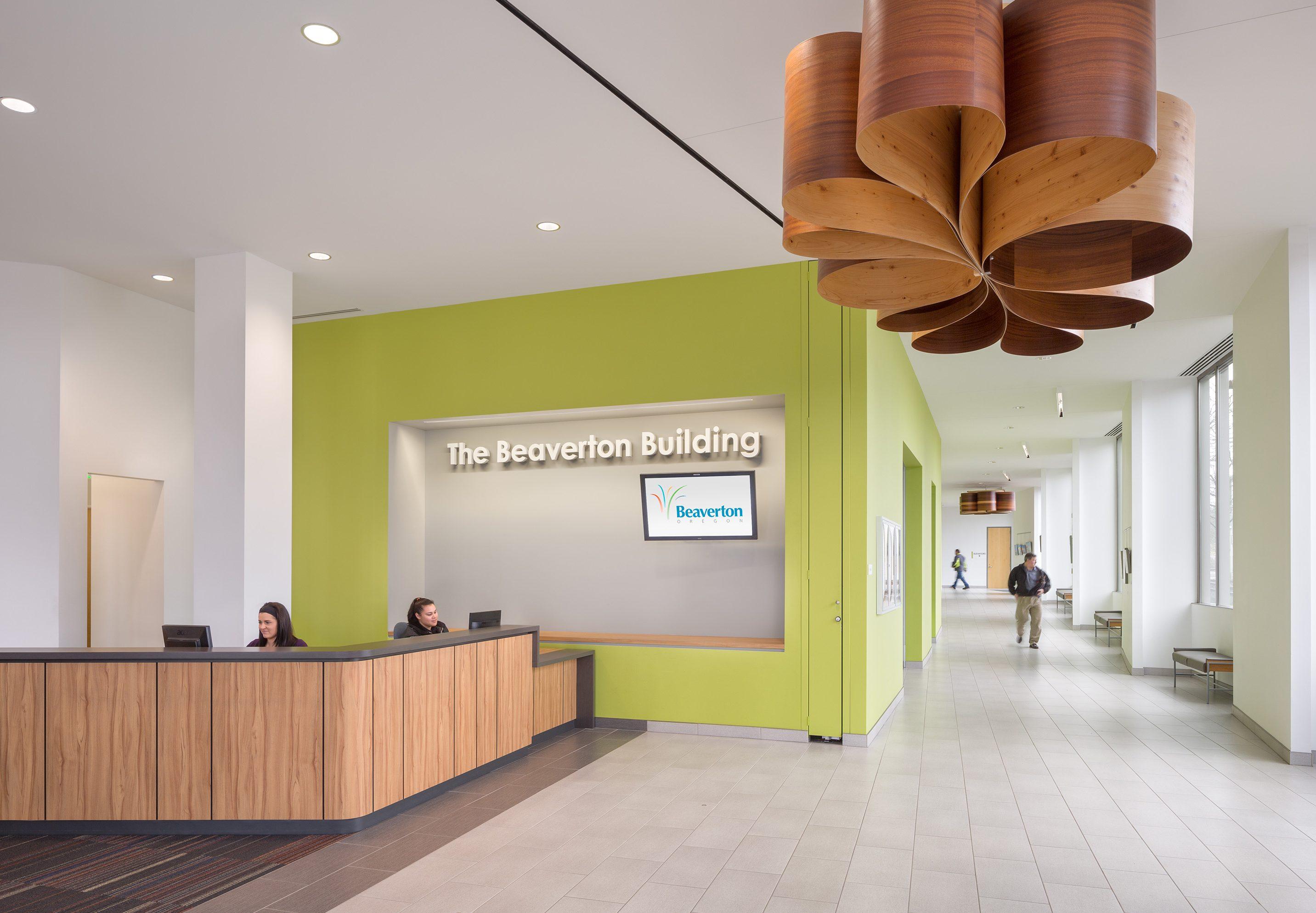 Beaverton City Hall administration building renovation