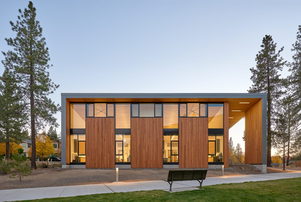 academic laboratory design Bend Science Station Hennebery Eddy Architects