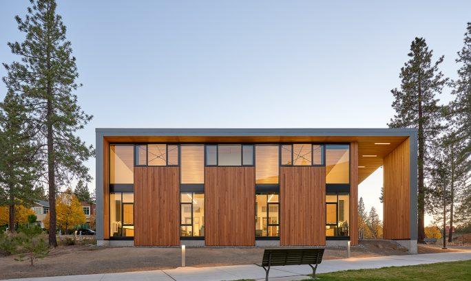 academic laboratory design Bend Science Station Hennebery Eddy Architects