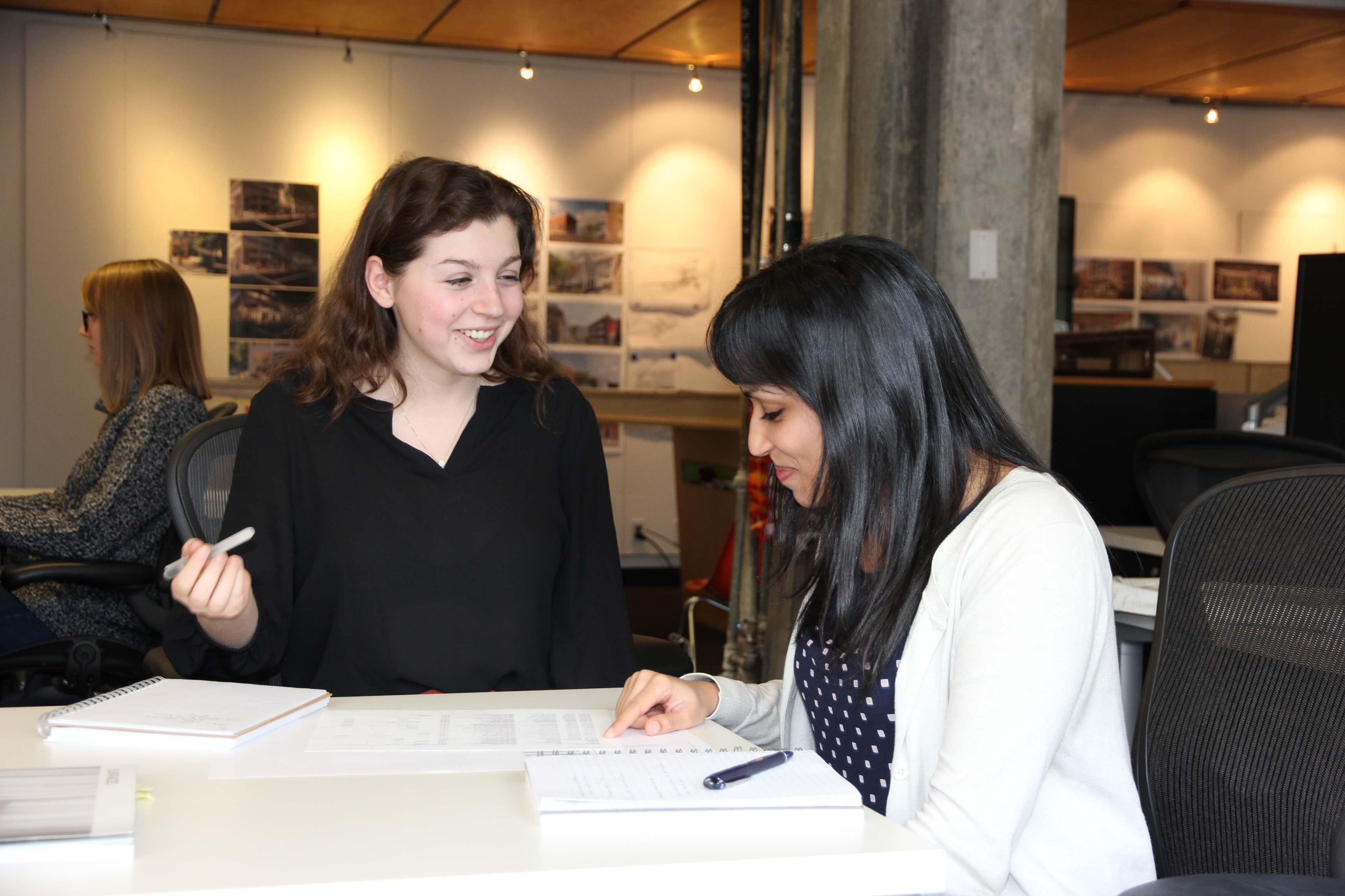 Hennebery Eddy Architects Net Zero Emerging Leaders intern Madelaine Murray