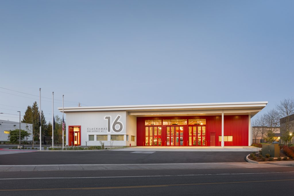 fire station design Hennebery Eddy Archtitects