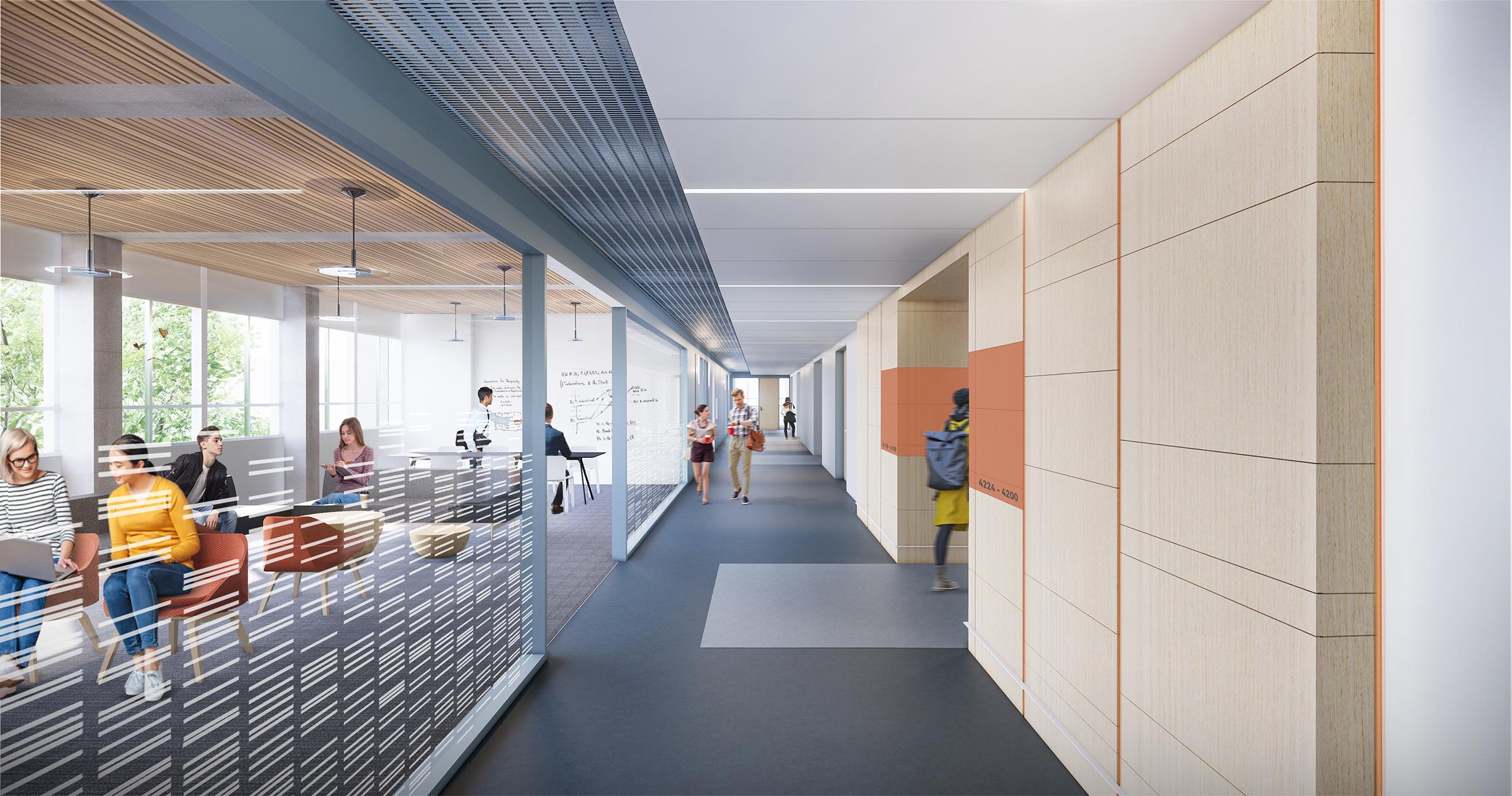 biology laboratory design by Hennebery Eddy Architects