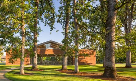 Oregon library design Hennebery Eddy Architects