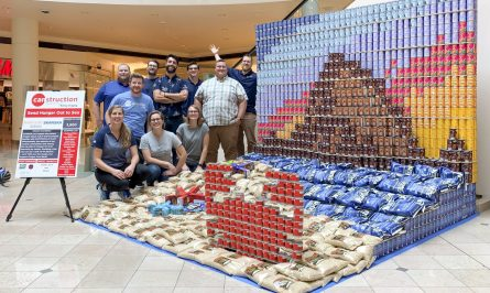 Canstruction Portland Hennebery Eddy Architects