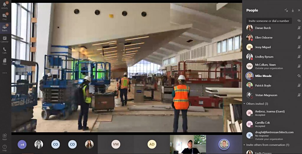 virtual construction site visit